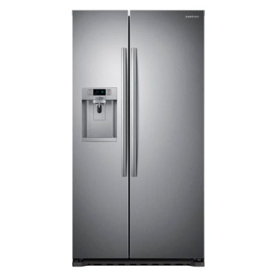Samsung 22 Cu. Ft. Stainless Steel Counter-Depth Side-by-Side Refrigerator