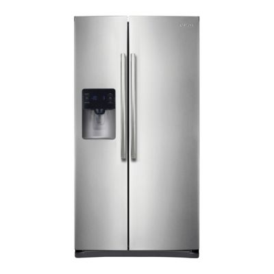 Samsung 24.5 Cu. Ft. Stainless Steel Side-by-Side Refrigerator