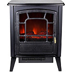 Warm House Bern Retro-Style Floor Standing Electric Fireplace