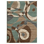 Powell Almost Circles Contemporary 5' x 7' Rug 99.00