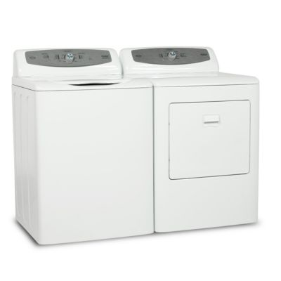 Haier 3.0 Cu. Ft. Top-Load Washer and 6.6 Cu. Ft. Electric Dryer