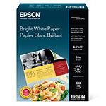 Epson 500-Sheet 8.5' x 11' Bright White Paper No price available.