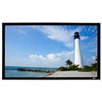 Elite Screens 106' Fixed Frame Projection Screen 449.99