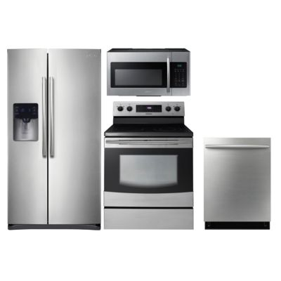 Samsung 4-Piece Stainless Steel Kitchen Package