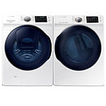 Samsung 4.5 Cu. Ft. AddWash™ Front-Load Washer and 7.5 Cu. Ft. Steam Gas Dryer