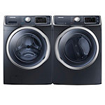 Samsung 4.5 Cu. Ft. Steam Front-Load Washer and 7.5 Cu. Ft. Steam Gas Dryer