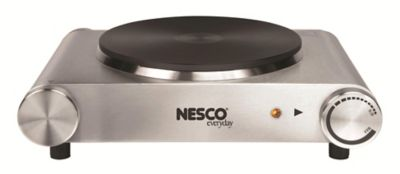Nesco Stainless Steel 1500 Watt Single Burner