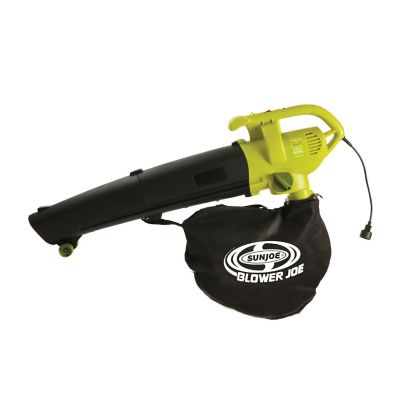 Sun Joe Blower Joe 3-in-1 Electric Blower/Vacuum/Leaf Shredder