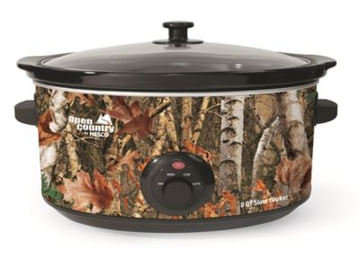Open Country 8 Quart Portable Slow Cooker