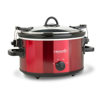 Crock-Pot® Red 4-Quart Slow Cooker