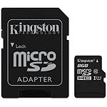 Kingston 8GB microSDHC Card Class 10 10.00