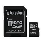 Kingston 16GB microSDHC Card Class 4 13.00