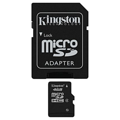 Kingston 4GB microSDHC Card Class 4