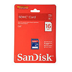 SanDisk 16GB SD High-Capacity Memory Card 14.99