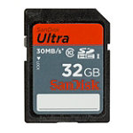 San Disk 32GB Ultra SDHC™ UHS-I Card 54.99