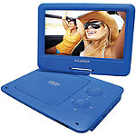 Sylvania Blue 9' Portable DVD Player