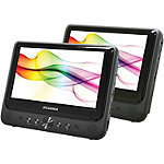 Sylvania 9' Dual-Screen Portable DVD Player