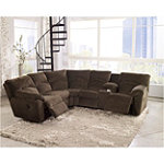 Berkline Tallou Reclining Sectional 1498.00