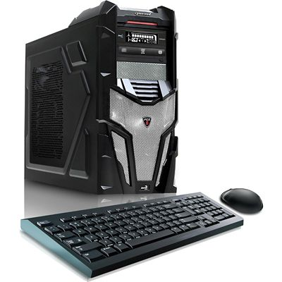 CybertronPC Shockwave X6-9600 Gaming PC with AMD FX-6300 Processor, NVIDIA GeForce GTX 960 2GB Graphics Card, 16GB Memory