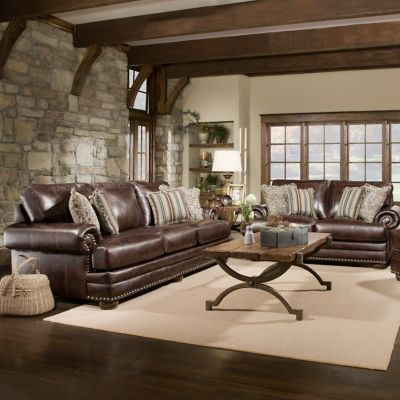 Benton Sofa and Loveseat