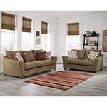Berkline Carline Sofa and Loveseat 1298.00
