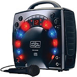 Singing Machine Black Portable Karaoke Player