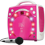 The Singing Machine Pink Portable Karaoke Player