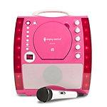 Singing Machine Pink CD+G Plug & Play Karaoke