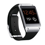 Samsung Black Galaxy Gear™ Smartwatch No price available.