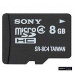 Sony 8GB microSDHC™ Memory Card 12.95