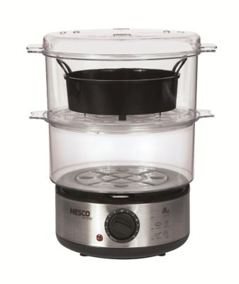Nesco 5-Quart 400-Watt Food Steamer