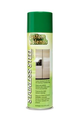 Crown Custom Blends™ Stainless Steel Cleaner, Polish and Preservative
