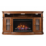 Bell'O Stand for TVs Up to 60' or 75lbs. with 26' Classic Flame Firebox