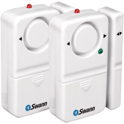 Swann 2-Pack Complete Window and Door Magnetic Alarm Kit