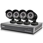 Swann 8-Channel 720p Digital Video Recorder and 4 Security Cameras