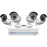 Swann 4-Channel 720p HD NVR System and 4 Security Cameras