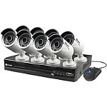 Swann 8-Channel 1080p HD NVR System and 8 Security Cameras