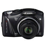 Canon PowerShot 14.1 Megapixel Digital Camera with 12x Optical Zoom, 3' LCD 169.99
