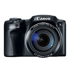 Canon PowerShot 12.1 Megapixel Camera with 30x Optical Zoom, 3' LCD 199.99