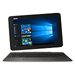 Asus 10.1' Touchscreen 2-in-1 Laptop/Tablet with Intel® Quad-Core x5-Z8500 Processor, 4GB Memory, 64GB SSD, Black