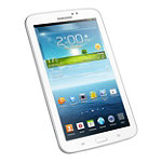 Samsung 8GB 7' White Android Jelly Bean Galaxy 7.0 Tab 3 No price available.