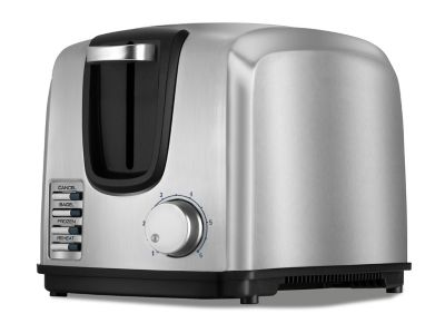 Black & Decker Brushed Stainless Steel 2-Slice Toaster