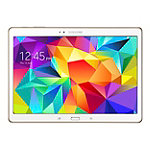 Samsung 16GB 10.5' White Android™ 4.4 KitKat Galaxy Tab S