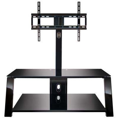 Bell'O Black Triple Play™ Stand for TVs Up to 55