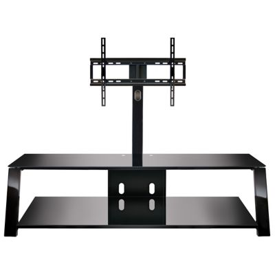 Bell'O Black Triple Play™ Stand for TVs Up to 70