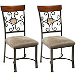 Steve Silver Tyler Dining Chairs Set of 2 123.00