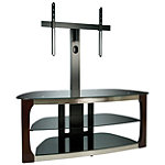 Bell'O Dark Espresso 52' Triple Play™ Stand for TVs up to 60' or 125 lbs.