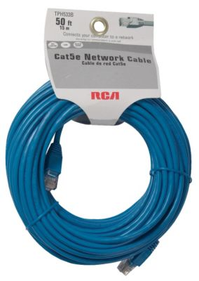 RCA 50' Cat5e Computer Ethernet Cable