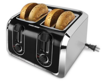 Black & Decker Brushed Stainless Steel Toaster