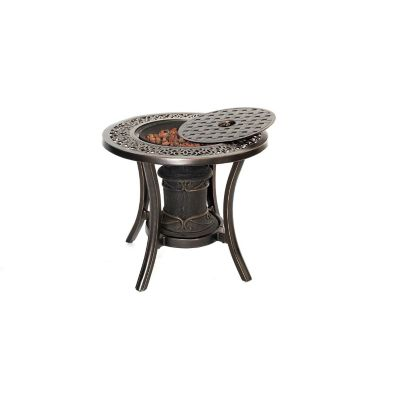 Hanover 10,000 BTU Fire Pit Side Table